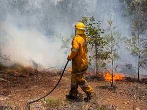 ROLLING: Wind a threat at Kalpowar, Delaneys Creek fires
