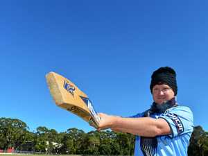 Coast cricketer takes career to Earth's greatest height