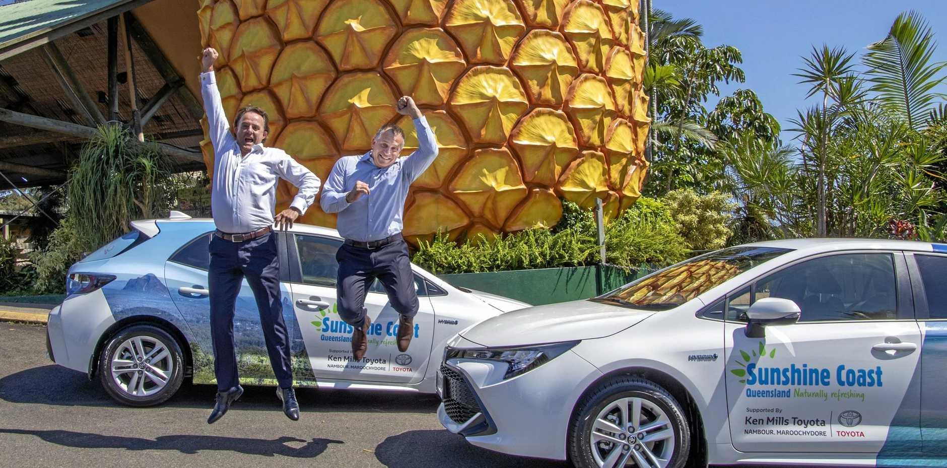 Ken Mills Toyota >> Ken Mills Toyota Helping Drive Sunshine Coast Promotion