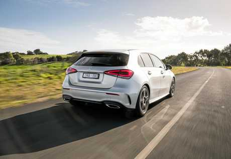 The Mercedes-Benz A200 comes with a long list of safety and tech features.