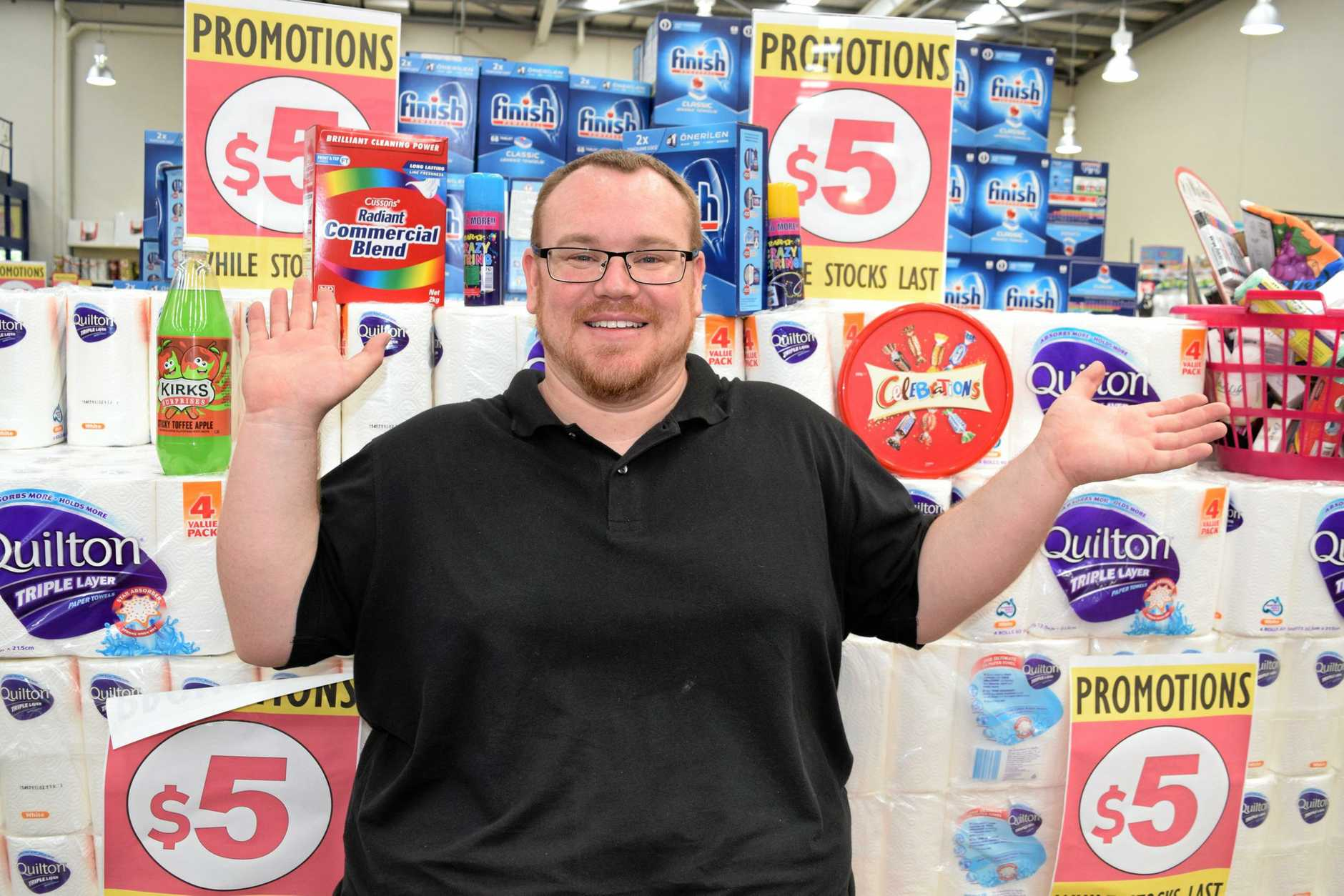 Silly Solly's CEO Brad Walton is over the moon to offer