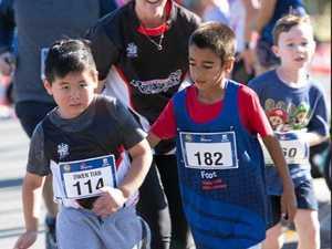 World's fastest kid helps runners reach their goals