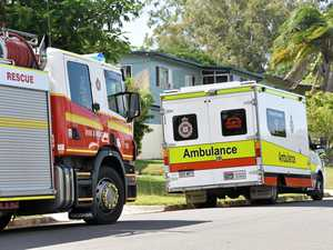 Woman treated for breathing difficulties as fires rage on