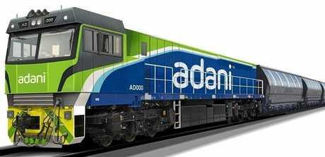 Adani train