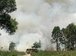 FIRE WARNING: Smoke pushes north as road re-opens