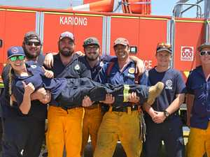RELIEF ARRIVES: More crews from NSW have made it to Bundy
