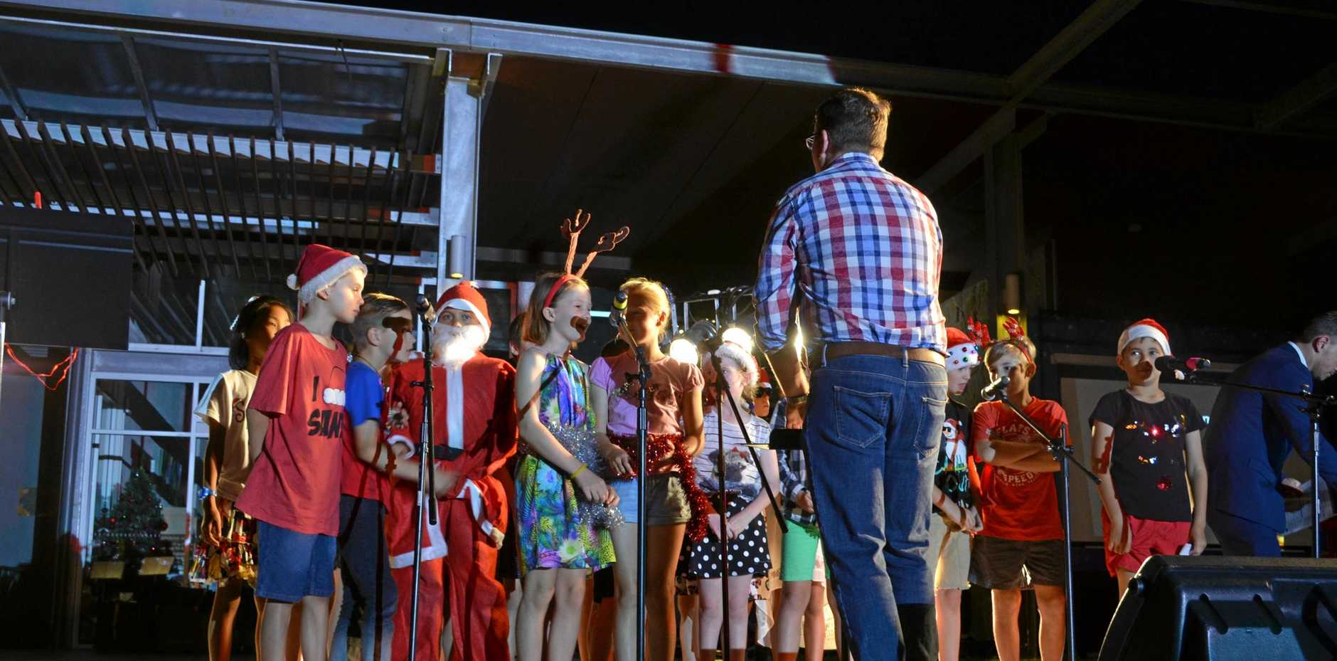 SING ALONG: The annual Kingaroy Christmas carols will be on Sunday.