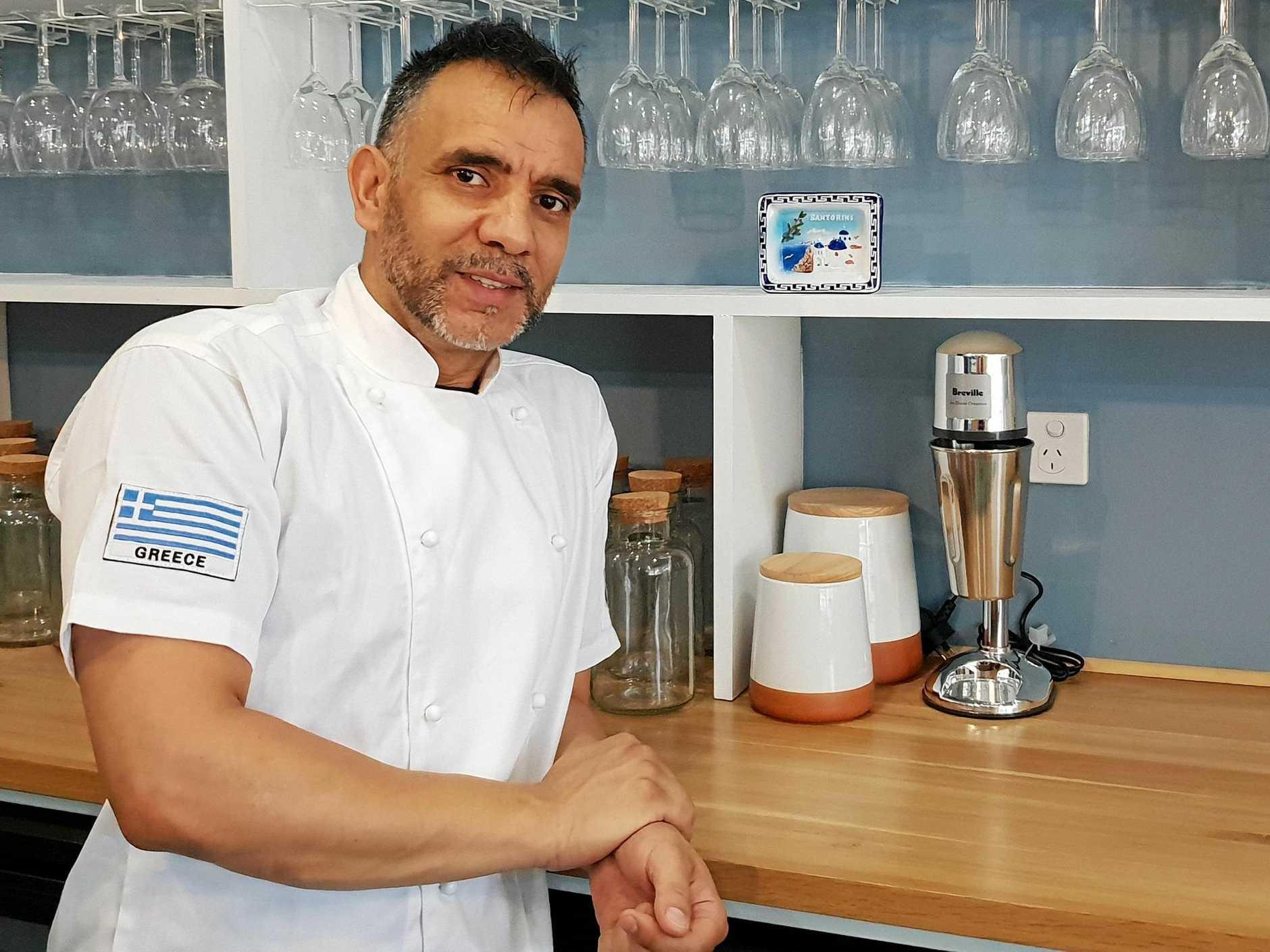 AUTHENTIC TASTE: Apollonio owner and head chef Alexandros Vasileiou.