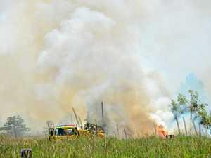 Bushfire breaks out along Kawana Way