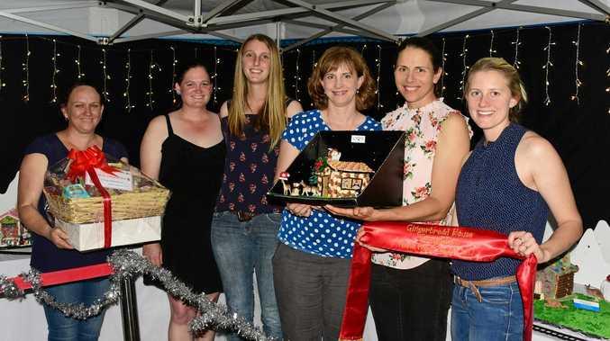 2017 gingerbread house winners from last years Community Christmas Carols.