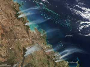 'HORRENDOUS': Qld fires visible from space