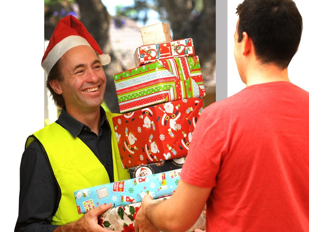 Australia Post is set to be in overdrive in the lead up to Christmas, with online orders expected to be up 30 per cent on last year. Picture: Keryn Stevens