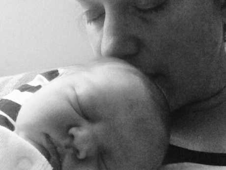 Valerie Theoret and her baby Adele Roesholt were killed by a grizzly bear. Picture: Facebook