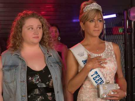 Jennifer Aniston in a scene from the Netflix movie Dumplin. Picture: Netflix
