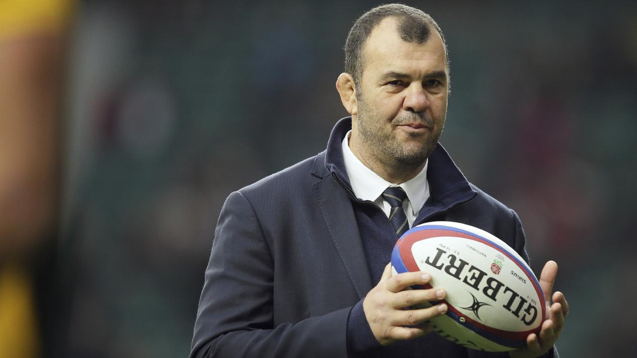 Michael Cheika is under pressure. (AP Photo/Tim Ireland)