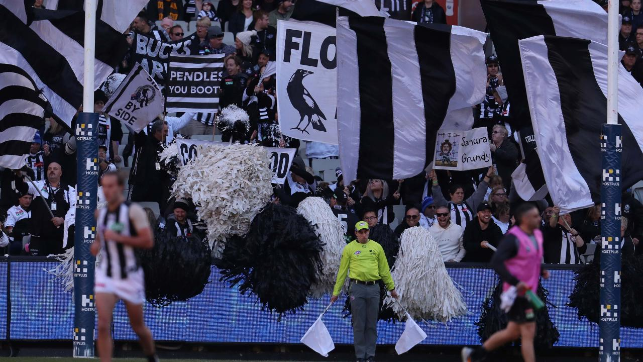 Collingwood has recorded a profit in excess of $4 million. Picture: Michael Klein