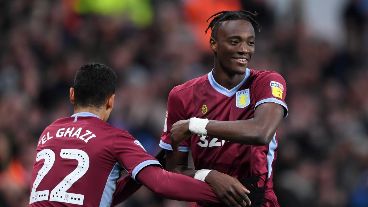 Tammy Abraham was almost the hero for Villa.