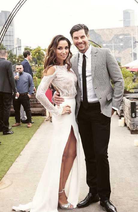 Snezana Markoski and Sam Wood are married