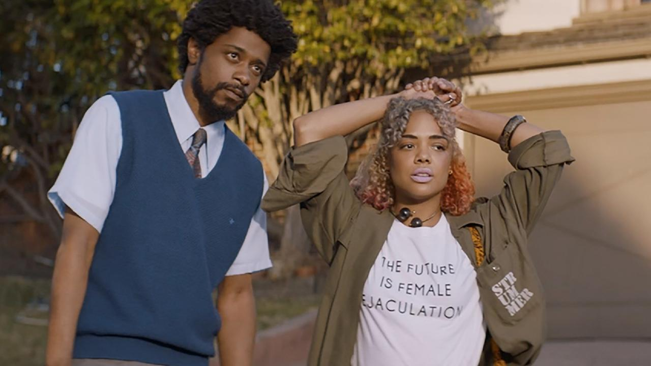 In Sorry to Bother You with Lakeith Stanfield, also out today