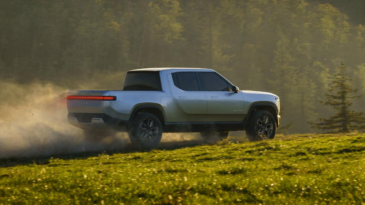 Rivian claims the R1T will have serious off-road potential.