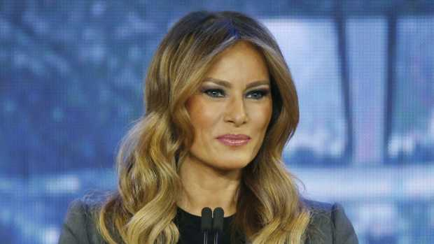 First lady Melania Trump has defended her rather unique choice of Christmas trees for the White House.