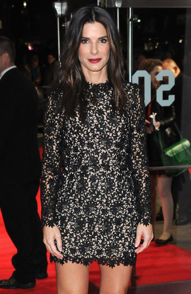 At the London premiere for her hit film Gravity. Picture: Stuart C. Wilson/Getty Images for BFI
