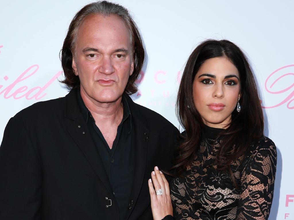 Filmmaker Quentin Tarantino (L) and Daniella Pick. Picture: Getty