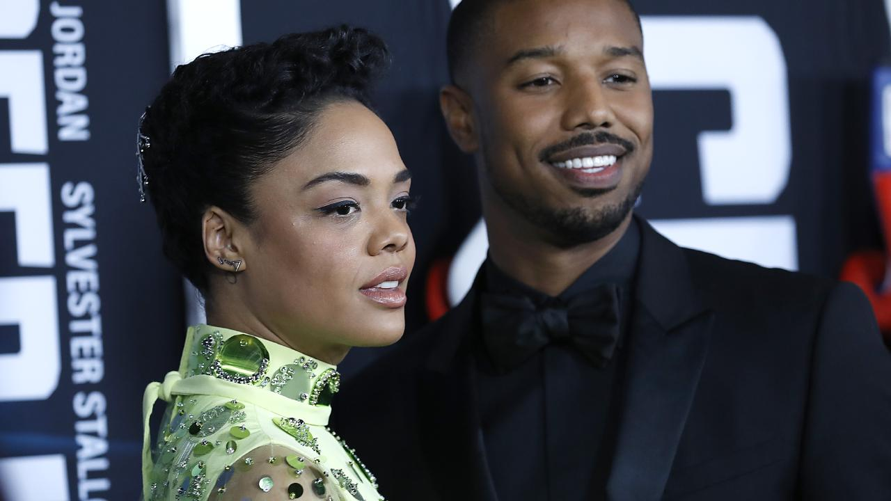 At the Creed II premiere with Michael B. Jordan Picture: John Lamparski/Getty Images