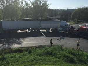 Tyson Street truck crash