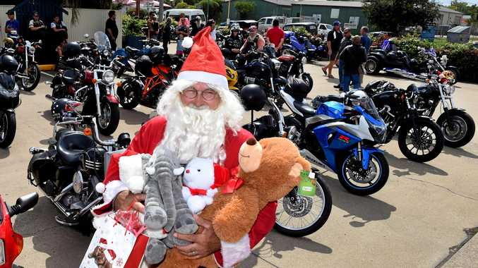 CHRISTMAS SUPPORT: Santa will lead the Independant Riders Fraser Coast Toy Run through the streets of the Maryborough, Hervey Bay and Torbanlea.
