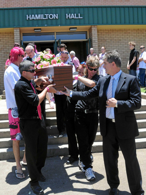 Jaxson Bradey Funeral at Hamilton Hall, Gympie