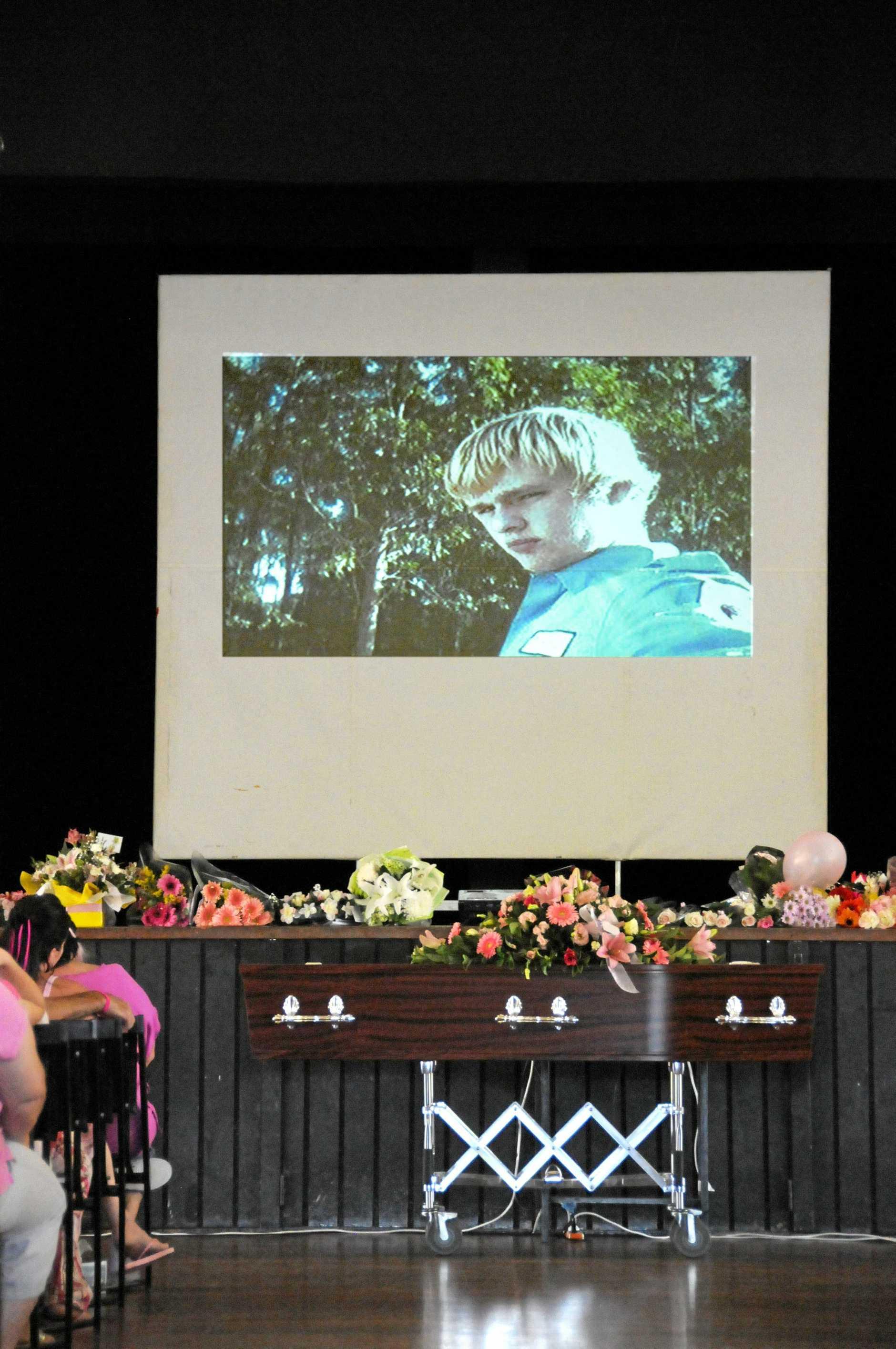 Jaxson Bradey's funeral