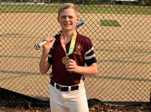 Gladstone junior a big hit for softball