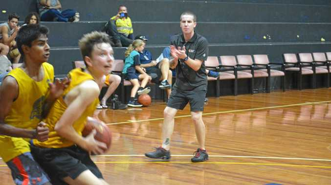 APPLAUS: Queensland North coach Brady Walmsley sees a lot of talent in the region.