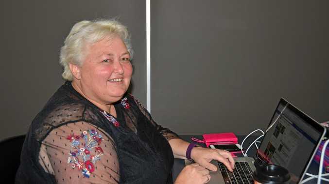 Imogene Nix at her last National Novel Writers Month workshop.