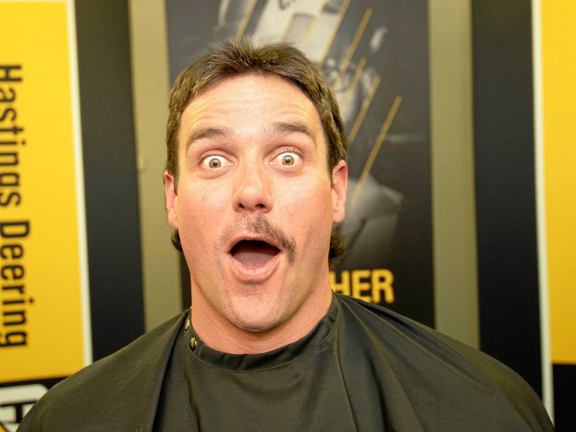 Hasting Deering Safety Advisor Steve Will taking part in Movember.