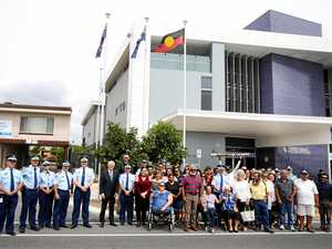 Tweed police raise flag of respect for Aboriginal community