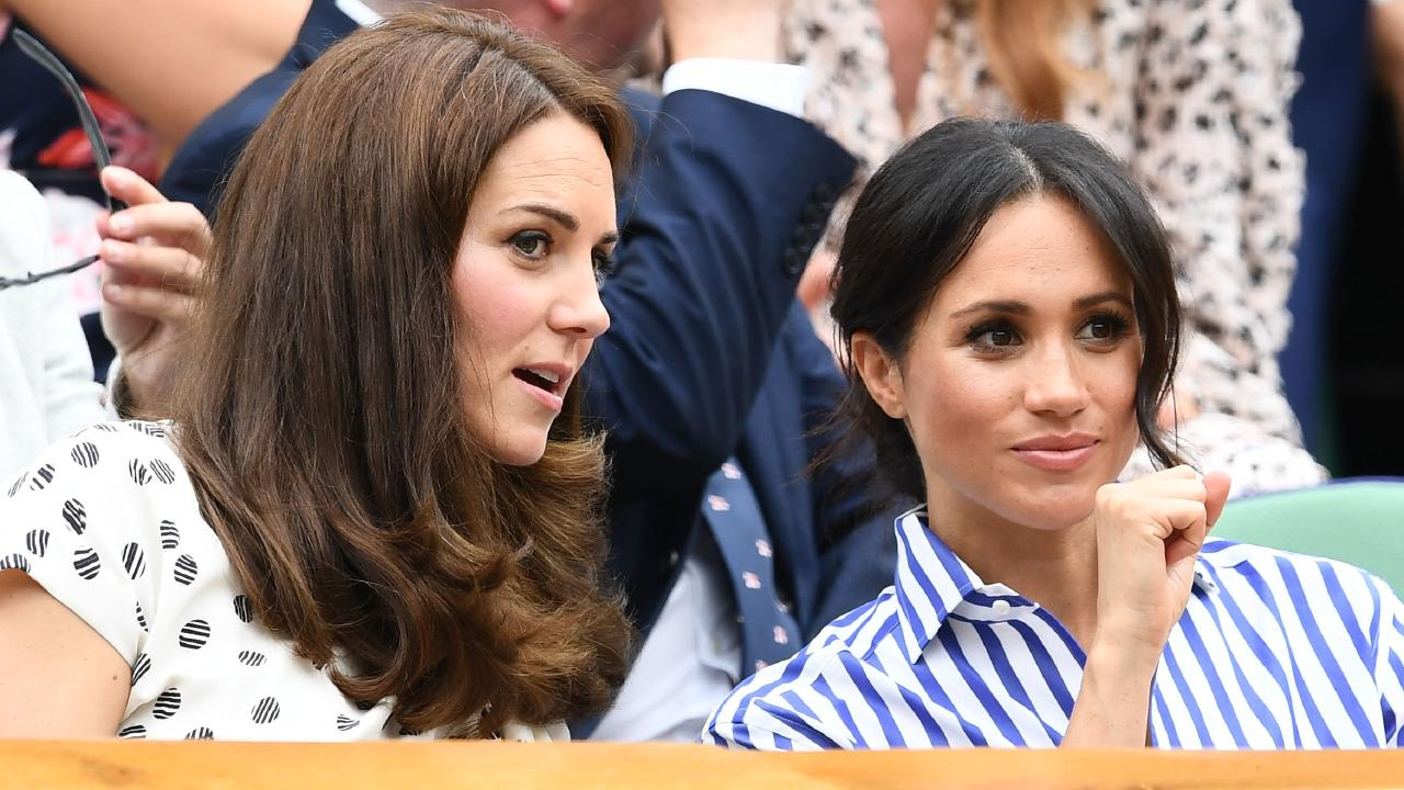 A new report claims Kate and Meghan got on last Christmas — but aren't best friends. Picture: Clive Mason