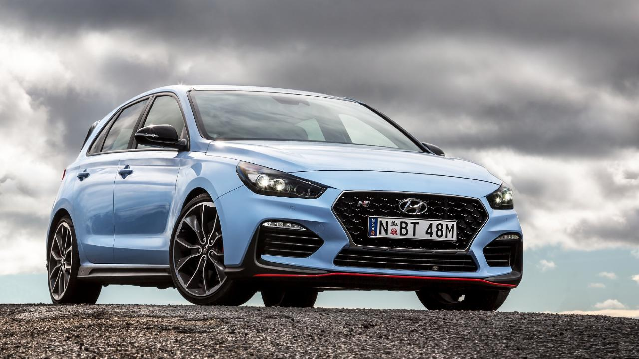 2018 Hyundai i30N, News Corporation's Car of the Year. Photo: Thomas Wielecki.