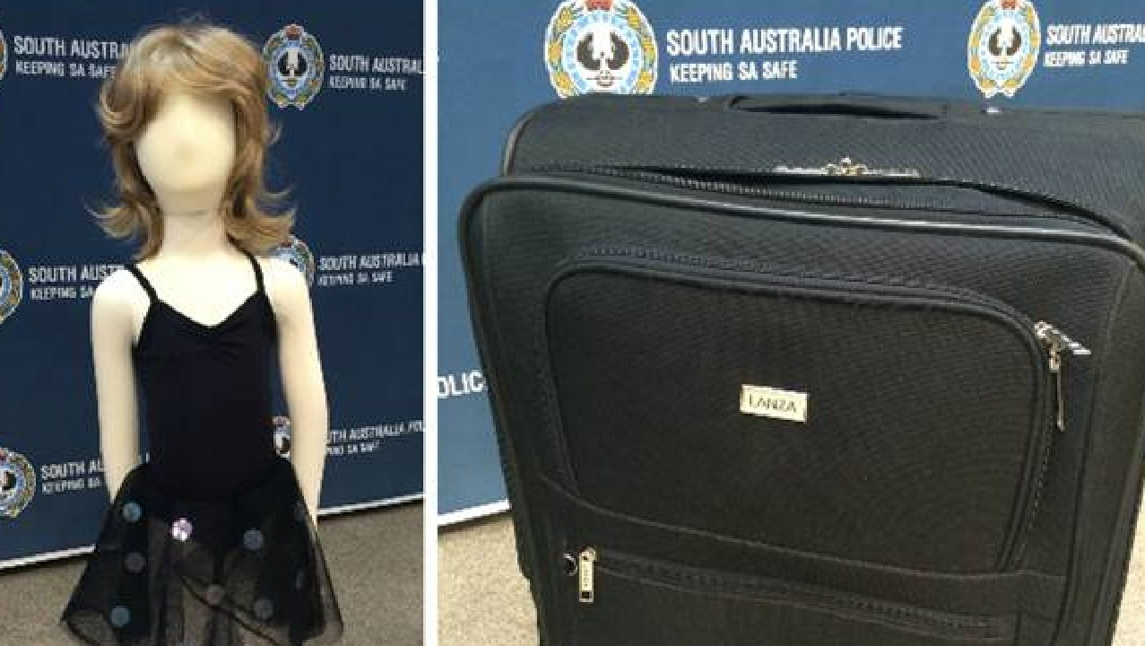 Pictures of clothing and a suitcase relating to the murder of Karlie Jade Pearce-Stevenson and daughter Khandalyce Kiara Pearce were released from the NSW Police.