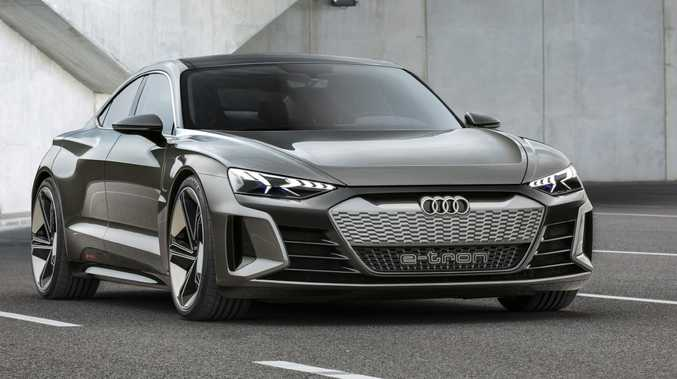 The Audi e-tron GT concept was unveiled at Los Angeles motor show.