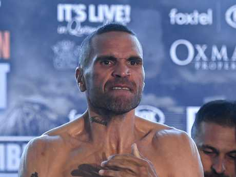 Mundine is ready to take down Horn.