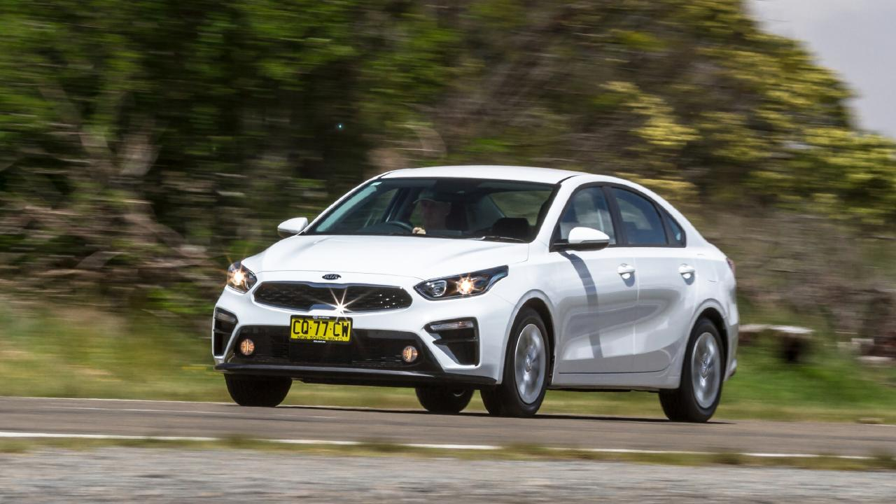 The Kia Cerato is a lot of car for the price. Photo: Thomas Wielecki.