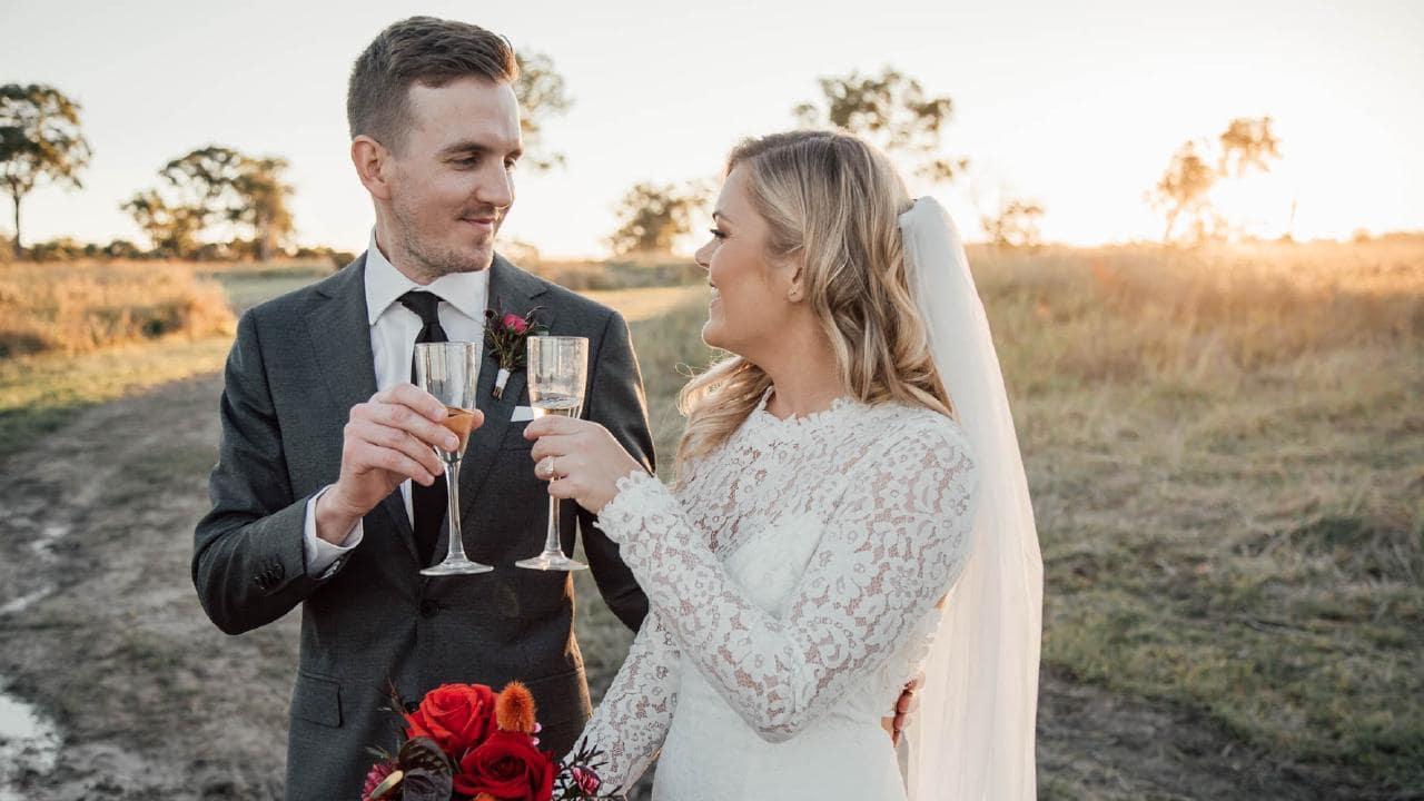 Stephen Hunter and Katie Williamson