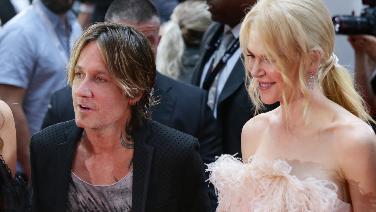 Nicole Kidman and Keith Urban on the red carpet at the 2018 Aria Awards. Picture: Jonathan Ng