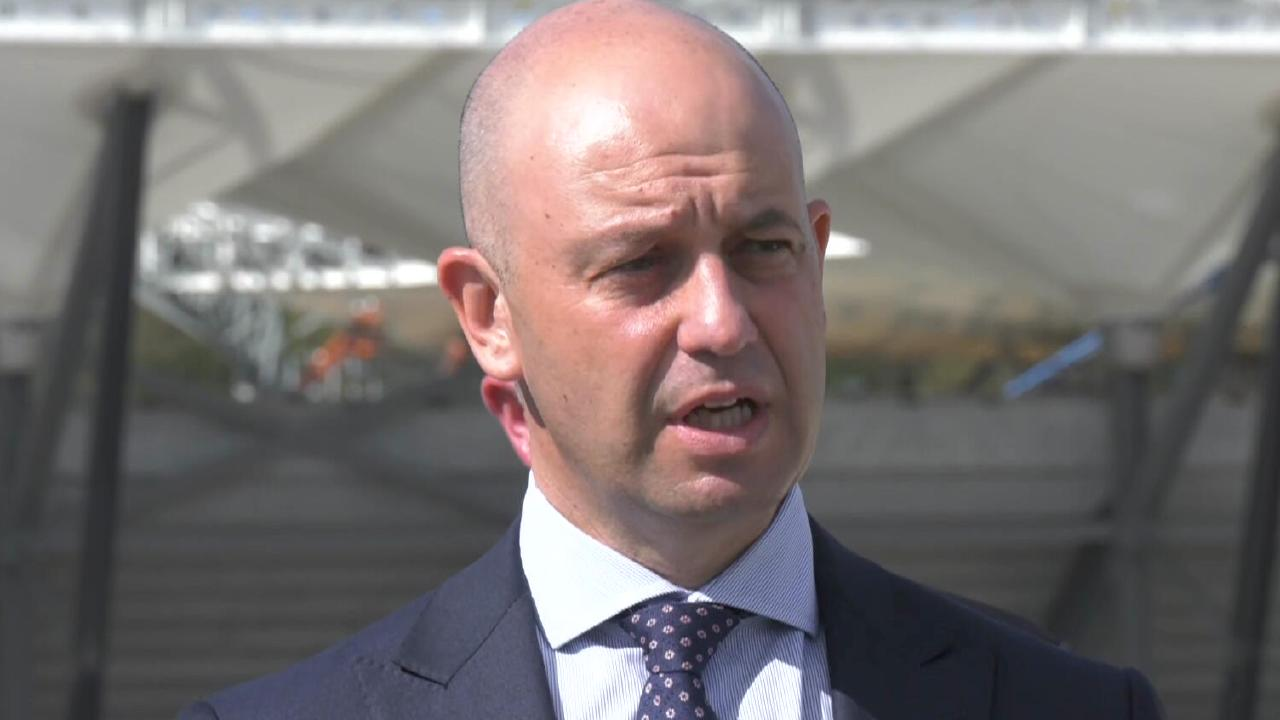 Todd Greenberg announces the Nines World Cup will be played at Western Sydney Stadium.