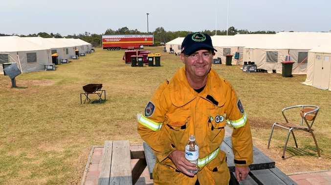 NSW Rural fire volunteer Martin Williams.
