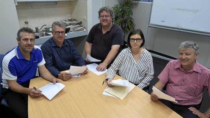 POWER 30 TEAM: The selection panel for 2018 consists of  The Daily Examiner  editor Bill North, deputy editor Tim Howard, chief photographer Adam Hourigan, fsections editor Lesley Apps and Clarence Valley Council communications co-ordinator David Bancroft.