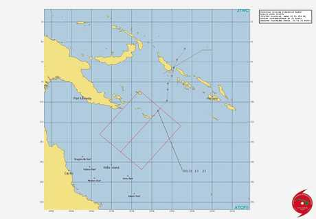 The tropical low was detected over 300 nautical miles from Honiara on the Solomon Island. It is predicted to turn into a tropical cyclone in the coming days.