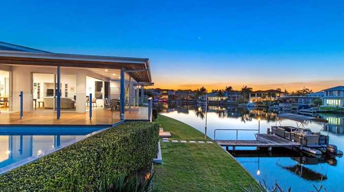 This Noosaville home, with one of Noosa Water's largest waterfronts, sold this week for $2.85m.